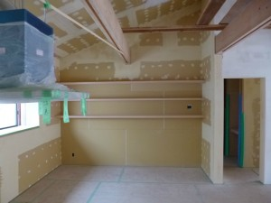 k家族室の棚